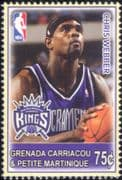 Grenadines of Grenada 2005  Chris Webber/ Basketball/ Sports/ Games/ People/ Sportsmen 1v (s1968q)