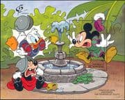 Grenadines of  St Vincent 1992 Disney/ Mickey/ Fountain/ Cartoons/ StampEx    1v m/s (ad1008)