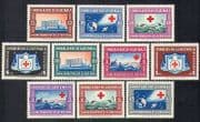 Guatemala 1960 Red Cross  /  Medical  /  Health  /  Welfare  /  Soldier  /  Building 10v set n37218