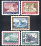 Guatemala 1964 Palaces  /  Buildings  /  Arcitecture  /  Palm Trees  /  Nature 5v set (n37229)