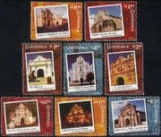 Guatemala 2006 Cathedral/ Churches/ Buildings/ Architecture/ Heritage 8v set (n45700)
