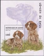 Guinea 1996 German Setter/ Dogs/ Pets/ Working Animals/ Nature 1v m/s (s894)