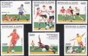 Guinea 1997 Football/ WC/ World Cup/ France'98/ Sports/ Games/ Soccer 6v set (b8258)