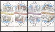 Hong Kong 2003 Houses  /  Buildings  /  Architecture  /  Animation 4v set t-b prs (n35479  /  )