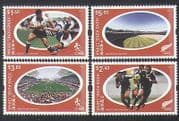 Hong Kong 2004 Rugby Sevens  /  Sports  /  Games  /  Stadia  /  Buildings 4v set (n35512)