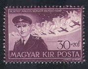 Hungary 1942 Stephen Horthy  /  Planes  /  Aircraft  /  Aviation  /  People  /  Royalty 1v (n39946)