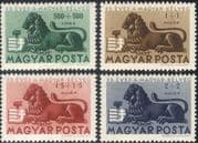 Hungary 1946 Lion/ Animals/ Animation/ Stamps 75th Anniversary 4v set (n28525)
