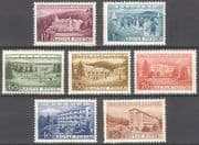 Hungary 1953 Workers Rest Homes  /  Holiday  /  Buildings  /  Architecture 7v set (n39964)
