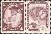 Hungary 1959 Shepherd/ Letter/ Stamp Day/ Exhibition/ StampEx 1v + lbl (n45574)