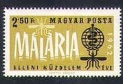 Hungary 1962 Malaria Eradication Campaign/ Medical/ Mosquitoes/ Insects/ Health/ Welfare/ Nature 1v (n34688)