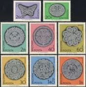 Hungary 1964 Lace-making/ Crafts/ Textiles/ Design/ Business/ Commerce 8v set (n45498)