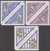 Hungary 1964 Road Safety  /  Cars  /  Transport  /  Welfare  /  Animation 3v set t-b prs n34955a