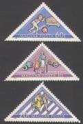 Hungary 1964 Road Safety  /  Cars  /  Transport  /  Welfare  /  Children  /  Animation 3v set n34955