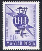 Hungary 1965 ITU-UIT  /  Radio  /  Telecomms  /  Communications 1v (n39945)