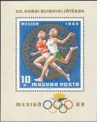 Hungary 1968 Olympic Games, Mexico/ Olympics/ Sports/ Athletes/ Runners 1v m/s (hx1022)