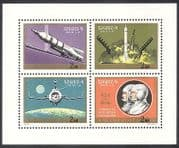 Hungary 1970 Soyuz 9  /  Space  /  Astronauts  /  Rockets  /  Transport 4v shtlt (n39965)