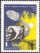 Hungary 1970 Weather/ Space/ Satellite/ Clouds/ Meteorology/ IMO/ WMO 1v (hx1085)