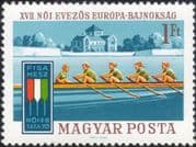 Hungary 1970 Women's European Rowing Championships/ Boats/ Sports/ Transport 1v (n45133)