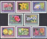 Hungary 1971 Flowers  /  Cactus  /  Succulents  /  Plants  /  Nature 8v set (n35120)