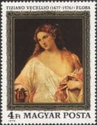 Hungary 1976 Titian/ Art/ Artists/ Painting/ Painters/ Woman/ Heritage/ Naked/ Nude 1v (n45632)