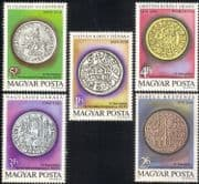 Hungary 1979 Numismatic Congress/ Money/ Coins/ Currency/ Commerce 5v set (n45602)