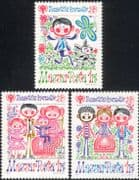 Hungary 1979 Year of the Child/ IYC/ Children/ Family/ Dog/ Animation 3v set (n45269)