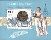 Hungary 1980 Olympic Games/ Olympics/ Sports/ Gold Medal/ Athletes 1v m/s (n45524)