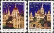 Hungary 1982 Stamp Day/ Buildings/ Statues/ Architecture/ Heritage 2v set (n45353)