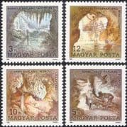 Hungary 1989 Speleology Congress/ Caves/ Rock Formations/ Lakes/ Geology/ Natural History 4v set (n45194)