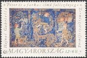 Hungary 1991 Music/ Tapestry/ Peter/ Wolf/ Folk Tales/ Fairy Stories/ Composers/  1v (n44949)