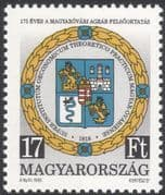 Hungary 1993 University of Agriculture/ Agronomics/ Crops/ Grapes/ Farming/ Education 1v (n45802)