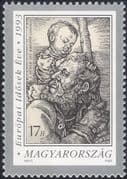 Hungary 1993 Year of the Aged/ Albrecht Durer/ Art/ Artists/ Paintings 1v (n45925)