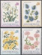 Hungary 1994 Flowers of Europe/ Rock-rose/ Pennycress/ Plants/ Nature 4v set (n45561)