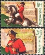 Hungary 1998 Horses/ Postman/ Transport/ Animals/ Stamp Day/ Post/ Maps 2v set (b6165a)