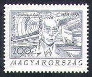 Hungary 1998 Trains  /  People  /  Engineers  /  Railways  /  Rail  /  Transport 1v (n34453)