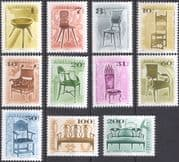 Hungary 1999 (2001) Antique Furniture/ Chairs/ Design/ Heritage/ Craft 11v set (hx1035)