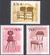 Hungary 1999 (2002) Antique Furniture/ Chairs/ Design/ Heritage/ Craft 3v set (hx1036)