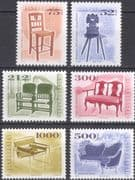 Hungary 1999 (2006) Antique Furniture/ Chairs/ Design/ Heritage/ Craft 6v set (hx1038)
