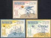 Hungary 2000 Olympic Games/ Shooting/ Gymnastics/ Sports/ Medals 3v set (n45351)