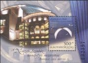 Hungary 2002 New National Theatre/ Drama/ Plays/ Actors/ Buildings/ Architecture 1v m/s (n45511)