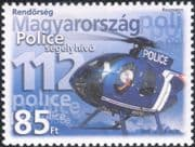 Hungary 2005 Police Day/ Helicopter/ Aircraft/ Aviation/ Transport/ Law/ Order 1v (n15533)