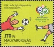 Hungary 2006 Football World Cup Championships/ WC/ Soccer/ Sports/ Games 1v (n15998)
