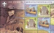 Hungary 2007 Europa/ Scouts/ Scouting/ Baden-Powell/ Youth/ Leisure 4v m/s (n33690)