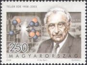 Hungary 2008  Ede Teller/ Nuclear Scientist/ Physics/ Science/ Atomic  1v (hx1171)