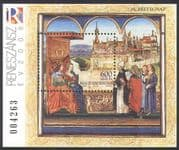 Hungary 2008 Stamp Day/ Royalty/ King/ Queen/ Art/ Castle/ Building/ History/ Heritage 1v m/s (n34509)