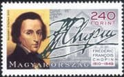 Hungary 2010 Frederic Chopin/ Composers/ People/ Piano/ Music/ Musicians 1v (n45152)