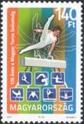 Hungary 2010 Gymnastics Association/ Gymnasts/ Sports/ Games/ Animation 1v (n45359)