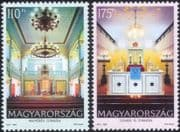 Hungary 2010 Synagogues/ Buildings/ Architecture/ Religion 2v set (n45724)