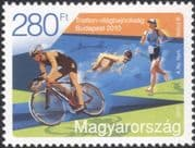 Hungary 2010 Triathlon/ Cycling/ Swimming/ Running/ Sports/ Athletes/ Bike 1v (n45111)