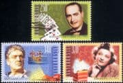 Hungary 2011 Magician/ Actors/ Magic/ Acting/ Theatre/ Entertainment/ People 3v set (n44632)